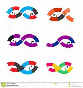 Logo Fish Abstract Stock Images - Image: 37775064