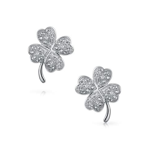 Cz Good Luck Four Leaf Clover Pave Stud Sterling Silver. Silver Hinged Bangle Bracelet. Layered Gold Chains. 4000 Dollar Engagement Rings. Labradorite Pendant. Onyx Beads. Name Diamond. Tiny Gold Necklace. Knot Bracelet