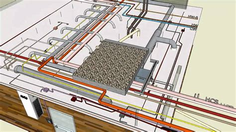 Mechanical Electrical Typical Sketchup Youtube