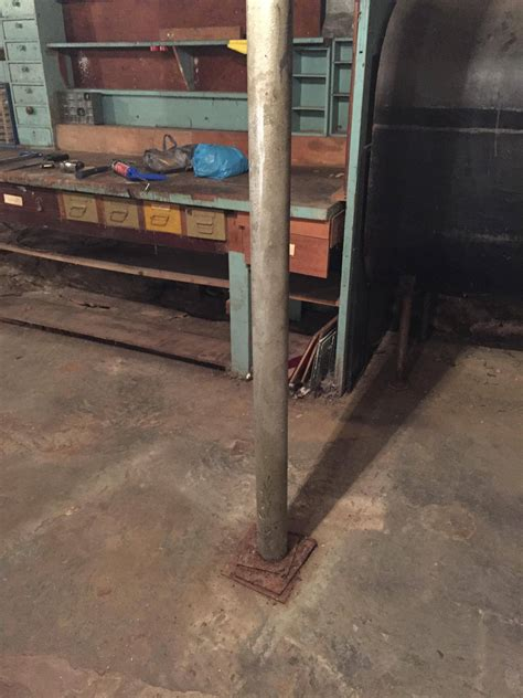 column support rust bottom stack plates enter cost replace removal