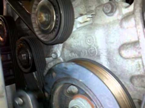 Chrysler Sebring Serpentine Belt Tension Pulley Youtube
