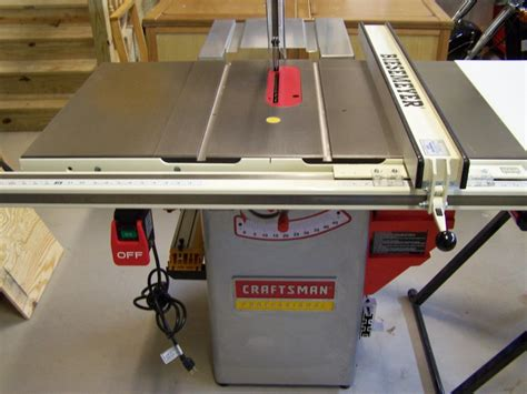 craftsman professional cabinet saw review craftsman 22124 by njcraftsman lumberjocks com