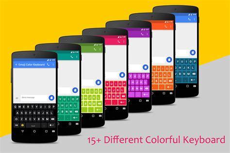 color emoji for android emoji color keyboard emoticon emoji keyboard theme