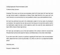 Sample College Recommendation Letter 14 Free Documents Recommendation Letter China Schooling Reference Letter University Recommendation Recommendation Letter For College Admission Letter Of