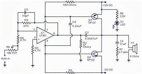 Watt Audio Power Amplifier Circuit Diagram Super