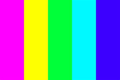 60s colors psychedelic color palette