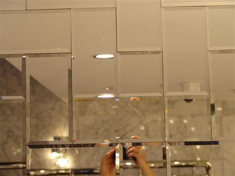 Beveled Bathroom Mirror Tiles 125*125mm