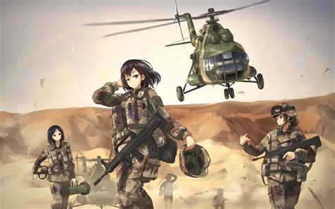 Soldier Anime Wallpaper - anime soldier wallpapers wallpaper cave