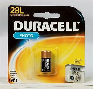 """NEW! """"DURACELL"""" 6 volt Lithium Photo Camera Battery 28L ..."""