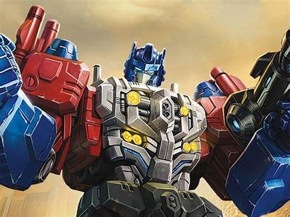 Titans Transformers Return Optimus Powermaster