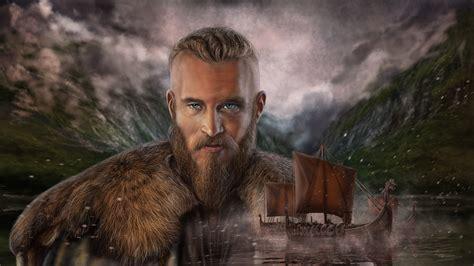 artstation vikings ragnar lodbrok vikingi ragnar