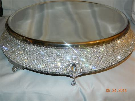 7 best images about rhinestone cake stand on pinterest