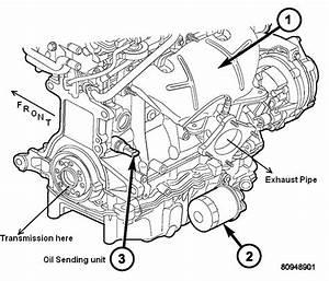 Oil Pressure Sensor Location Dodge Dakota