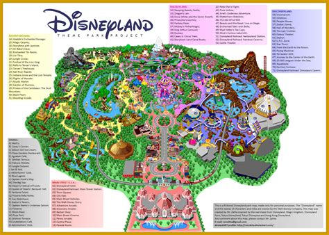 printable map  disneyland paris park hotels