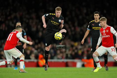 Kevin De Bruyne at the double as City blow Arsenal away ...