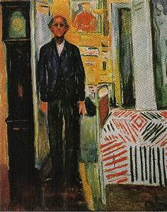 """""""Self Portrait between Clock and the Bed 02 (1940-1942 ..."""