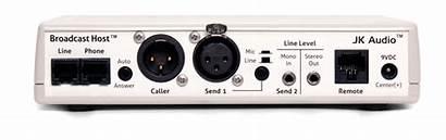 Broadcast Host Jk Audio Telephone Interface