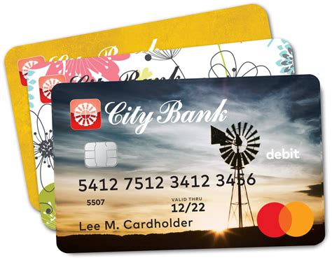 Payment cards are part of a payment system issued by financial institutions, such as a bank. City Bank | Personal | Debit Cards
