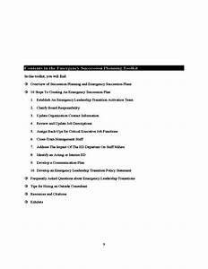 emergency succession planning free download With emergency succession plan template