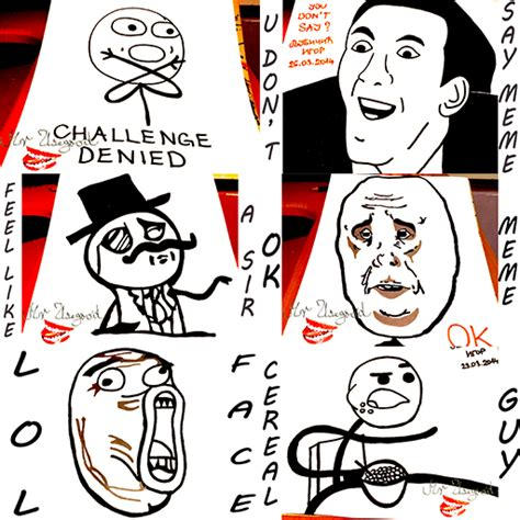 How To Draw A Meme Face - amazon com how to draw meme faces 17 memes appstore for android