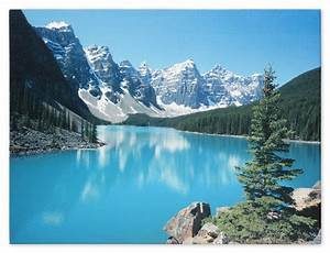 Wandbild Fotodruck Keilrahmen Bild Natur See Gebirge Fluss