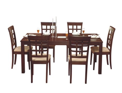 buy leo dining set  lisa chairs wooden dining table