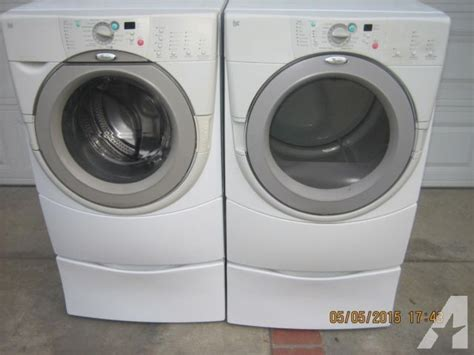 clean whirlpool duet front load washer gas dryer set
