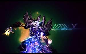 Undead Mage Wallpaper by izyman on DeviantArt