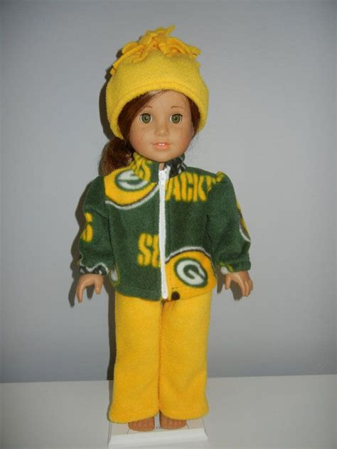Green Bay Packers Doll Outfit