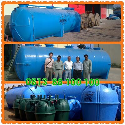 septic tank biotech modern dan baik instalasi pengolahan