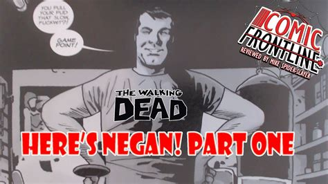 """The Walking Dead """"here's Negan!"""" Part One  Youtube"""