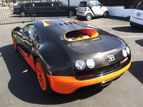 first bugatti first bugatti veyron supersport delivered in the us