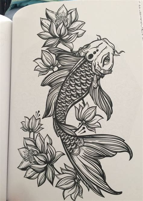mysterious koi fish tattoo designs  meanings
