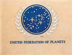 "Orig art & photolith separations fr ""United Federation of ..."