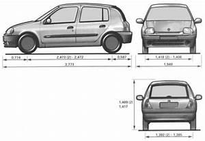 Dimensions Renault Clio : the blueprints cars renault renault clio ~ Medecine-chirurgie-esthetiques.com Avis de Voitures