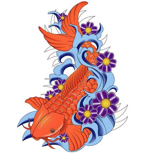 koi fish clip art clipartsco