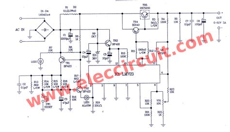 variable power supply circuit      pcb