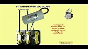 Branchement Moteur Triphasé : branchement d 39 un moteur triphas 380v en monophas 220v youtube ~ Medecine-chirurgie-esthetiques.com Avis de Voitures