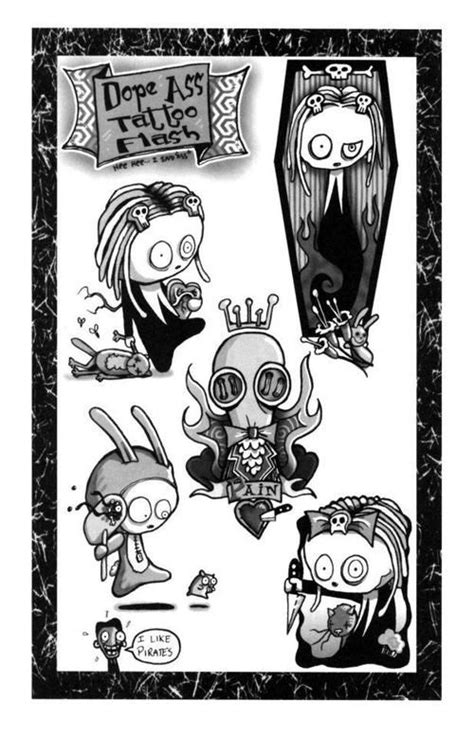 17 best Lenore Cute Little Dead Girl images on Pinterest | Design tattoos, Tattoo designs and