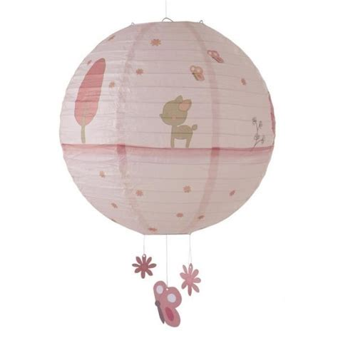 abat jour bebe fille domiva lanterne papier fany achat vente abat jour 3120760067338 cdiscount
