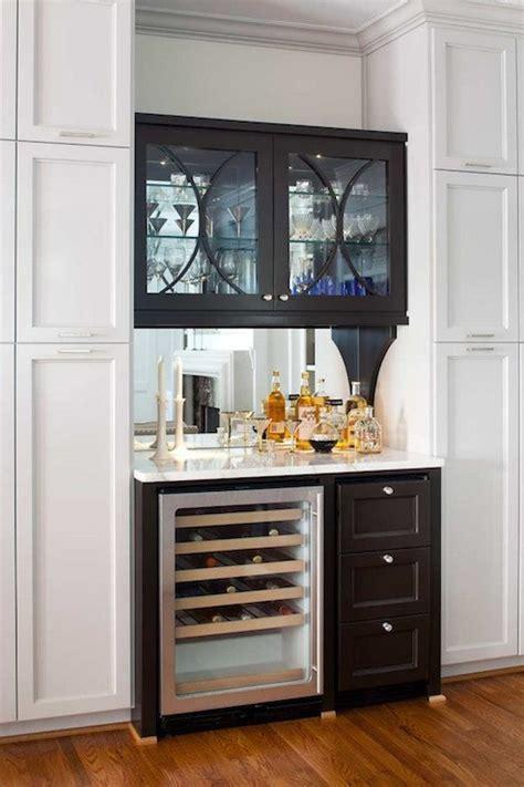 mirror backsplash contemporary kitchen terracotta studio