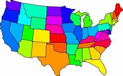 States United America Clip Clipart Usa State