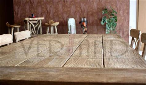 esstisch rustikal massiv esstisch teakholz massiv rustikal tisch teak holz 100 x 200 cm