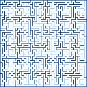 Generating Mazes with Inductive Graphs jelv is