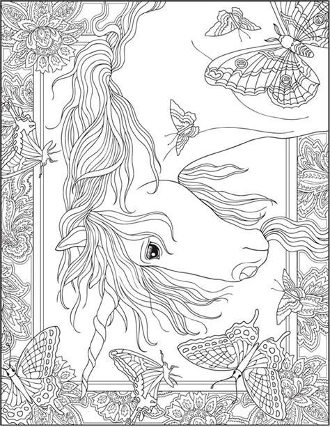 dover publications creative haven unicorns