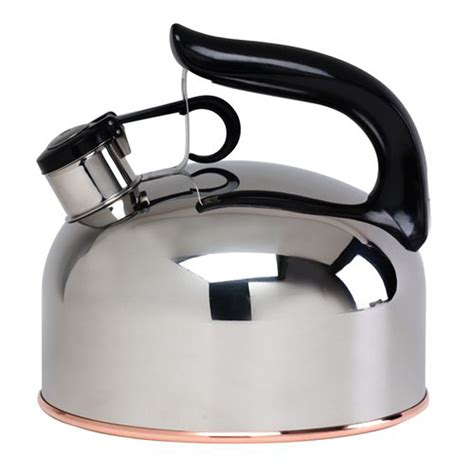 country kitchen kettle essential home 46759411 stainless steel tea kettle 2826