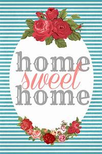 Home Sweat Home : home sweet home free printables sweet charli ~ Markanthonyermac.com Haus und Dekorationen