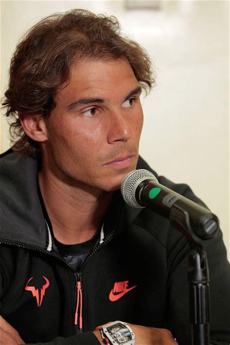 Photos Rafael Nadal Has Fun At The Johnny Mac Tennis
