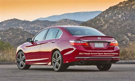 Accord Sport by 2017 Honda Accord Sport Special Edition Auto Honda Rumors