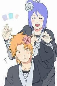 Konan and Yahiko | Naruto/Shippuden | Pinterest | Naruto ...